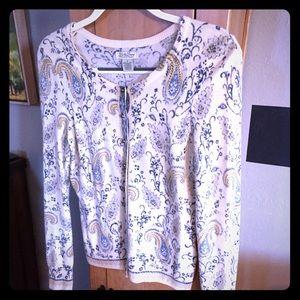 Lucky Brand Wool Cardigan Sweater